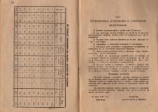 """Алманах на гимназия """"Йосиф Броз Тито"""", 1946/47,стр. 58-59, Цариброд"""